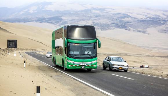 Algunas empresas de transporte han dejado de ofrecer viajes hacia las regiones del sur, otras afrontan dificultades para trasladarse por las carreteras. (Difusión)