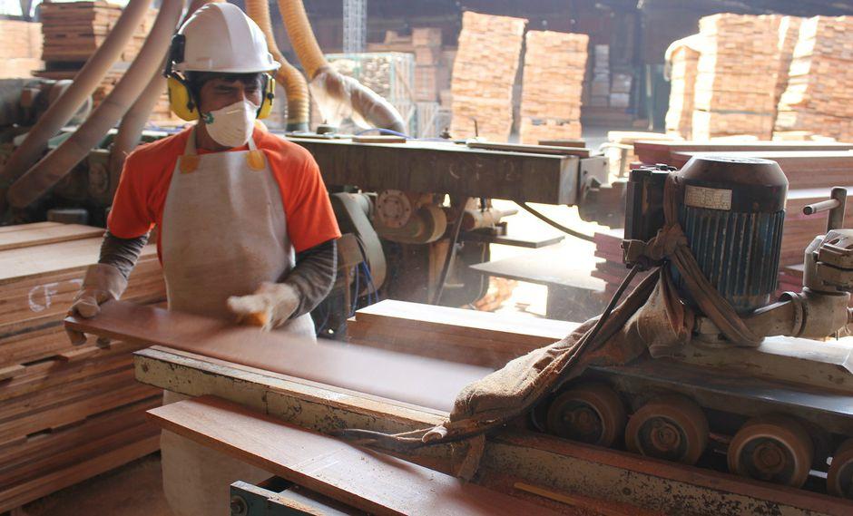 Las exportaciones de madera continúan cayendo, según ADEX. (Foto: Difusión)