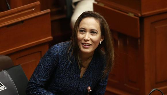 La congresista Paloma Noceda había renunciado a Fuerza Popular el 26 de julio del 2018. (Foto: GEC)