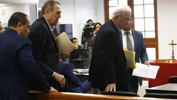 José y Hernando Graña son aspirantes a colaboradores eficaces en el caso Gasoducto del Sur. (Foto: GEC)