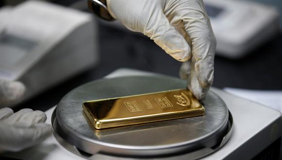 Los precios del oro bajaban el viernes. (Foto: Reuters)