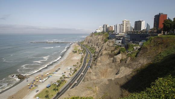 Municipalidad de Lima declara intangibilidad de los acantilados de la Costa Verde. (Foto: GEC)