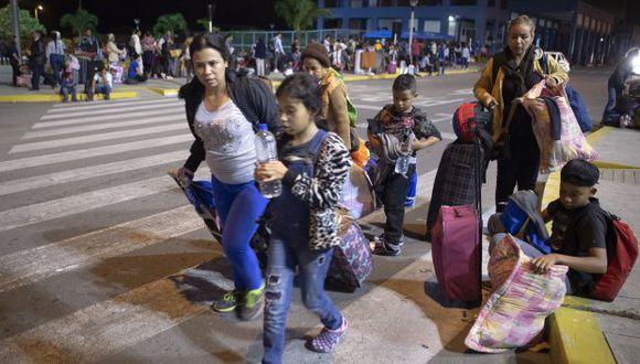 La semana pasada, el gobierno de Piñera anunció que cancelará a partir de mediados de agosto la entrega de visas a venezolanos en la ciudad peruana de Tacna, centralizando la tramitación en Lima con el fin de ordenar la creciente demanda. (Foto: AFP)