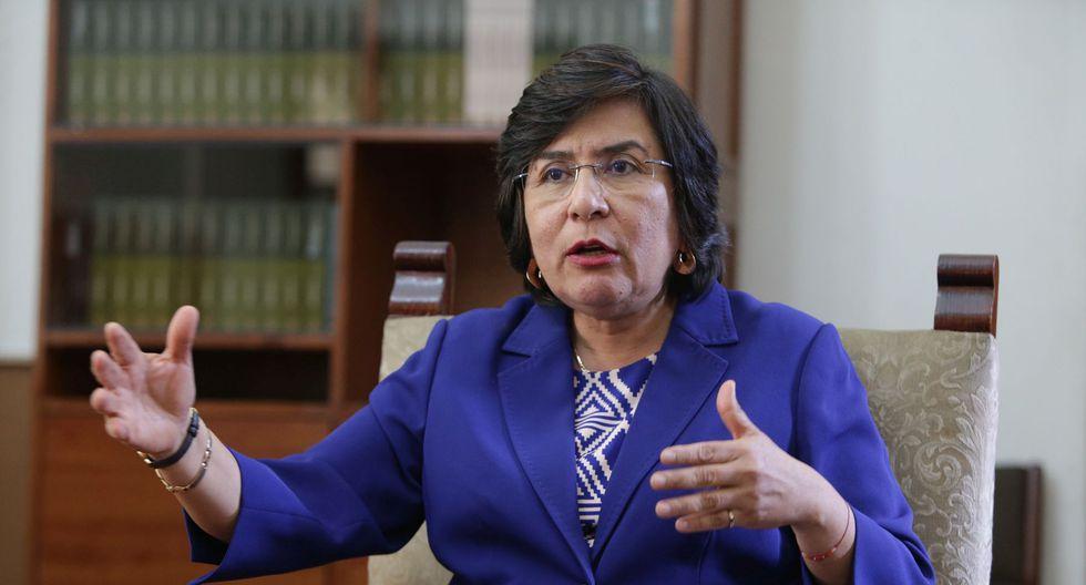 Marianella Ledesma indicó que la renovación de los magistrados del TC debería hacerse por tercios. (Foto: GEC)