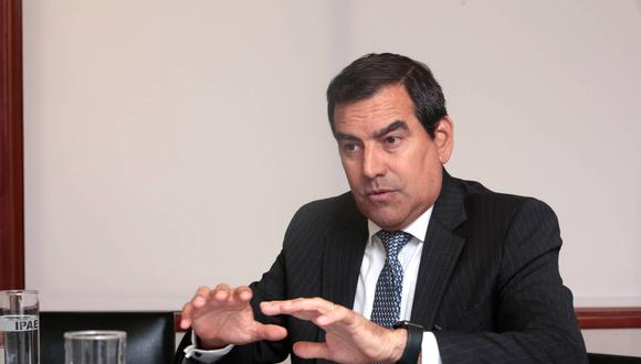 Oscar Caipo, presidente de la Confiep. (Foto: GEC)