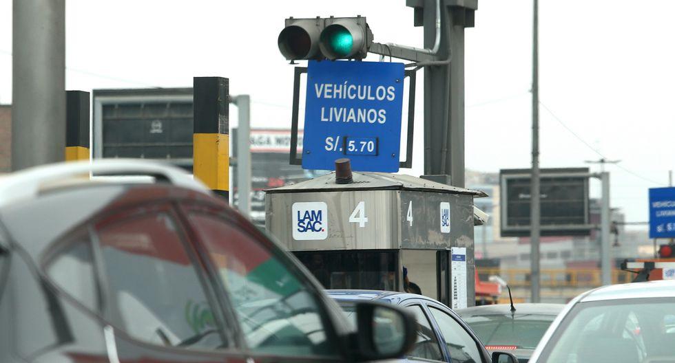 La presidenta de AFIN, Leonie Roca, indicó que sí existe una vía alterna en el peaje ubicado en Puente Piedra. (Foto: GEC)
