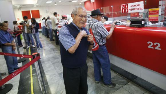 La devolución al fonavista beneficiario se realiza a través del Banco de la Nación. (Foto: GEC)