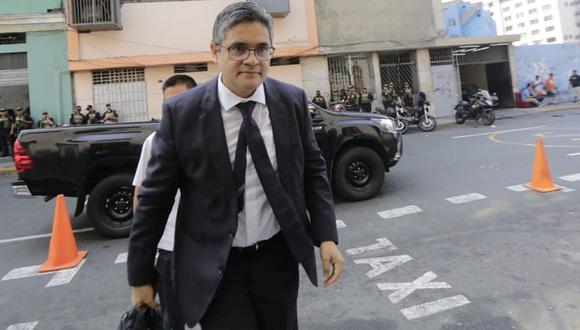 Fiscal José Domingo Pérez se pronunció sobre la situación de los fiscales supremos Pedro Chávarry y Tomás Gálvez. (Foto: César Zamalloa / GEC)