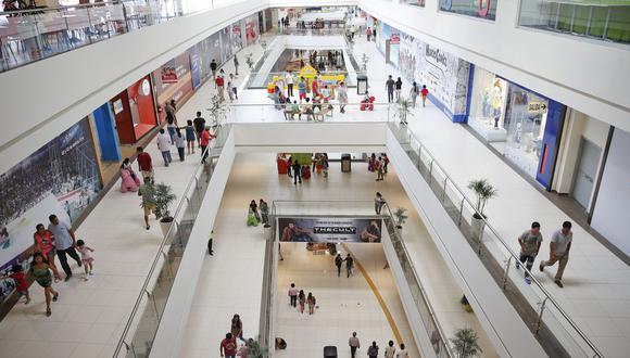 Centros comerciales se preparan para recibir más visitantes en diciembre. (Foto: GEC)