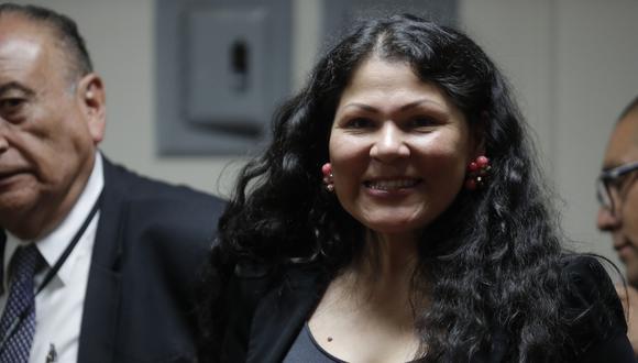 Yesenia Ponce habría consignado datos falsos sobre sus estudios en la hoja de vida que presentó ante el Jurado Nacional de Elecciones. (Foto: GEC)