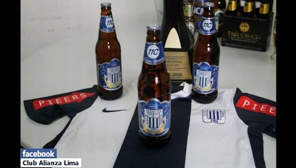 16 de setiembre del 2011. Hace 10 años. Alianza Lima también tendrá su cerveza.