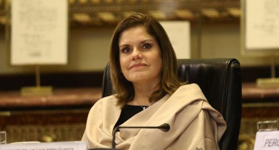 Mercedes Araoz quedará a cargo del Despacho Presidencial el 30 de junio y 1 de julio por el viaje de Vizcarra. (Foto: GEC)