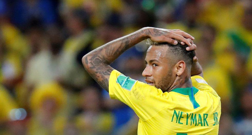 Los últimos partidos de Neymar también han estado marcados por su volatilidad emociona. (Foto: Reuters)