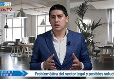 Problemática del sector legal y posibles soluciones