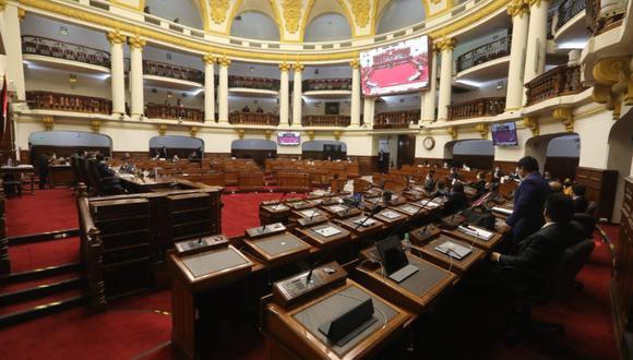 Proyección. Para aprobar la vacancia del presidente Martín Vizcarra se necesitan 87 votos. (Foto: Congreso de la República)