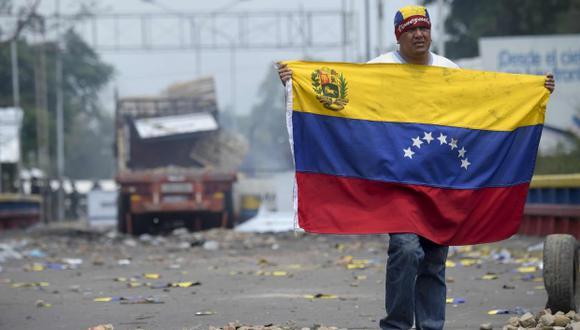 Venezuela termina por segundo año consecutivo en el último lugar del Índice de Estado de Derecho elaborado por el World Justice Project. (Foto: AFP)