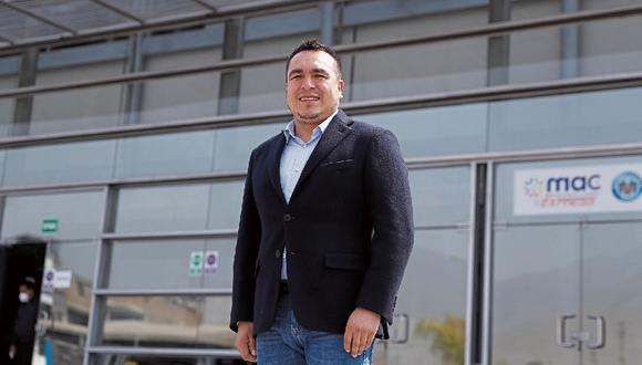 Raúl Díaz Pérez, alcalde de Comas.