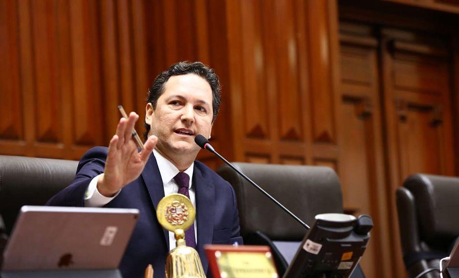 Daniel Salaverry seguirá a cargo de la Mesa Directiva del Congreso. (Foto: Congreso de la República)
