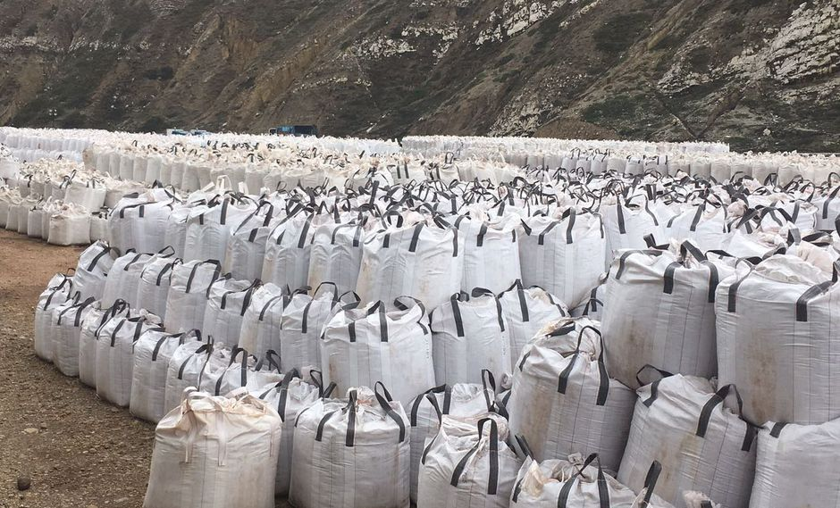 Ferritas de zinc en La Oroya. (Foto: Difusión)