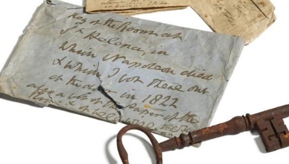 """Fue hallada """"en un sobre, en un baúl de una casa escocesa"""", explicó en un comunicado David MacDonald, especialista de muebles británicos en Sotheby's, antes de que se celebrara la subasta.  (Foto: Sotheby's)."""
