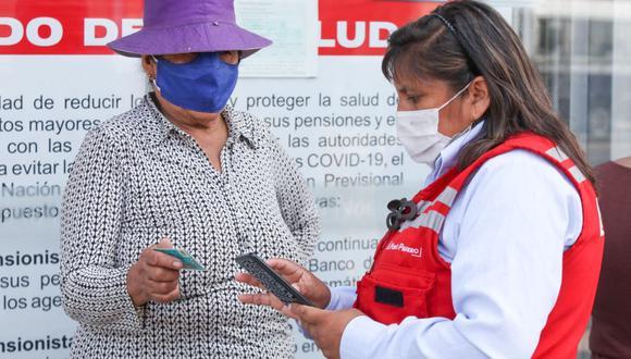 El pago del Bono 600 empezó a hacerse desde el mes de febrero, siguiendo un cronograma. (Foto: Andina)