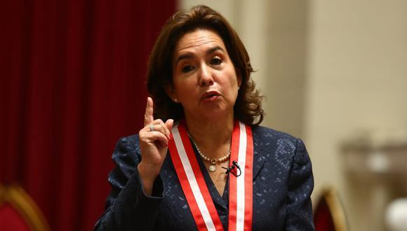 Elvia Barrios dijo que el caso del gas de Camisea podría judicializarse. (Foto: El Comercio)