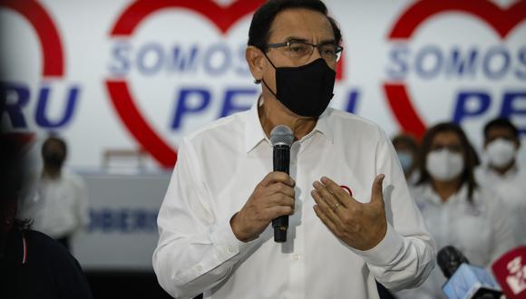 Martín Vizcarra fue excluido de las Elecciones 2021 el pasado 8 de enero. (Foto: GEC)