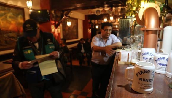 Municipalidad de Lima clausuró cuatro discotecas del Jirón de la Unión (Foto: Difusión)