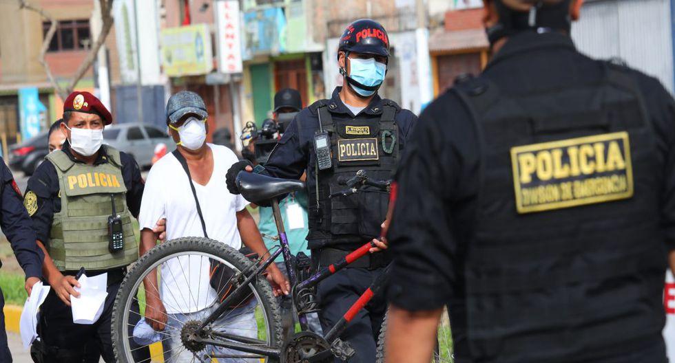 Aumenta la cantidad de detenidos por desacatar el estado de emergencia, (Foto: GEC)