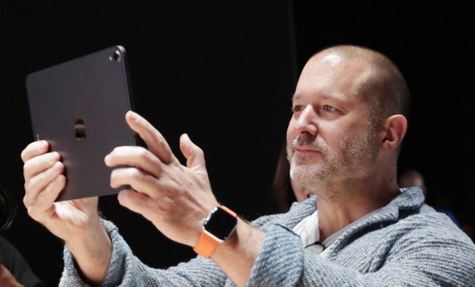 El veterano jefe de diseño de Apple, Jony Ive. (Foto: EFE)