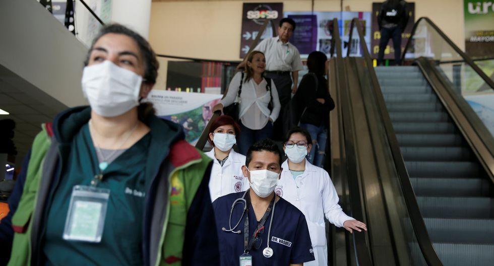 """""""Bolivia mantiene sus medidas de prevención y control ante la alta posibilidad de importación de un caso de coronavirus por la nueva situación"""", subrayó el ministro interino. (Foto: Reuters)"""