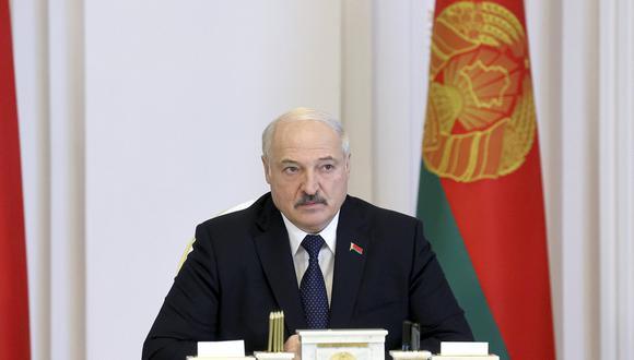 El presidente de Bielorrusia, Alexander Lukashenko. (Foto: AP).