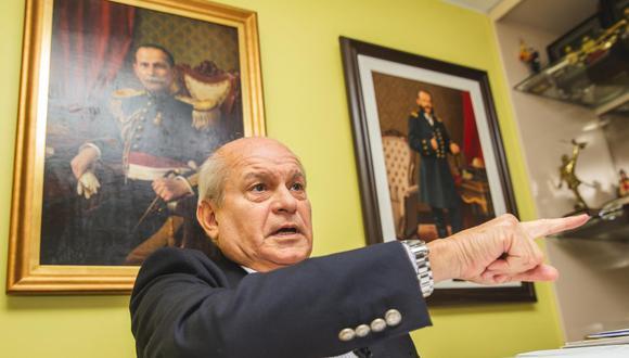 Pedro Cateriano, renunciante presidente del Consejo de Ministros. (Foto: GEC)
