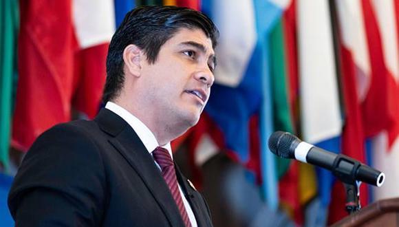 El presidente de Costa Rica, Carlos Alvarado, confirmó en CNN que existió una consulta sobre posible asilo a Alan García. (Foto: Facebook - Carlos Alvarado)