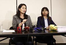 """Giulliana Loza: pericia a Keiko Fujimori se hizo """"a espaldas de la defensa"""""""