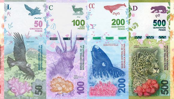 El BCRA ha anunciado, además, billetes de mayor denominación. (Imagen: Infobae)