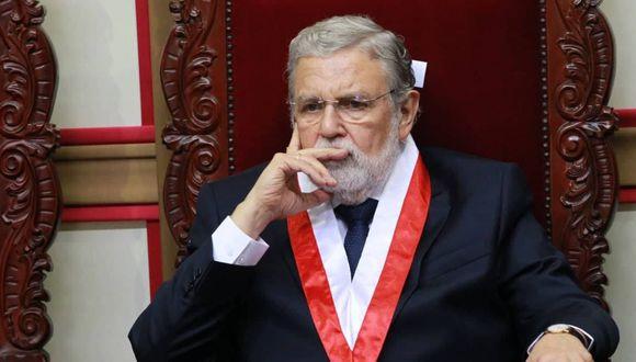 El presidente del Tribunal Constitucional, Ernesto Blume, dijo que una reforma constitucional no puede ser observada por el Ejecutivo. (Foto: Difusión)