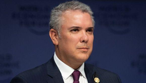 Iván Duque, presidente de Colombia. (Foto: EFE)