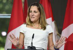 Canadá anuncia avances en TLCAN tras retorno al diálogo con EE.UU.