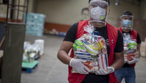 El BAP ha distribuido raciones a unas 250,000 personas durante la pandemia.