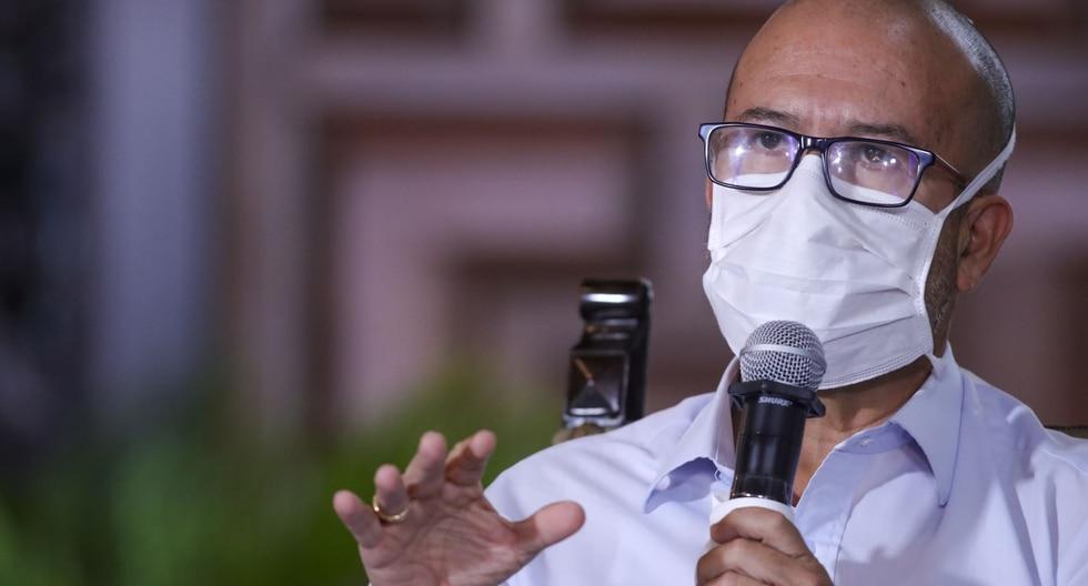 El ministro de Salud, Víctor Zamora, señalo que la región Piura ha recibido un financiamiento de un millón 700 mil soles a Piura para el Plan COVID. (Foto: PCM)