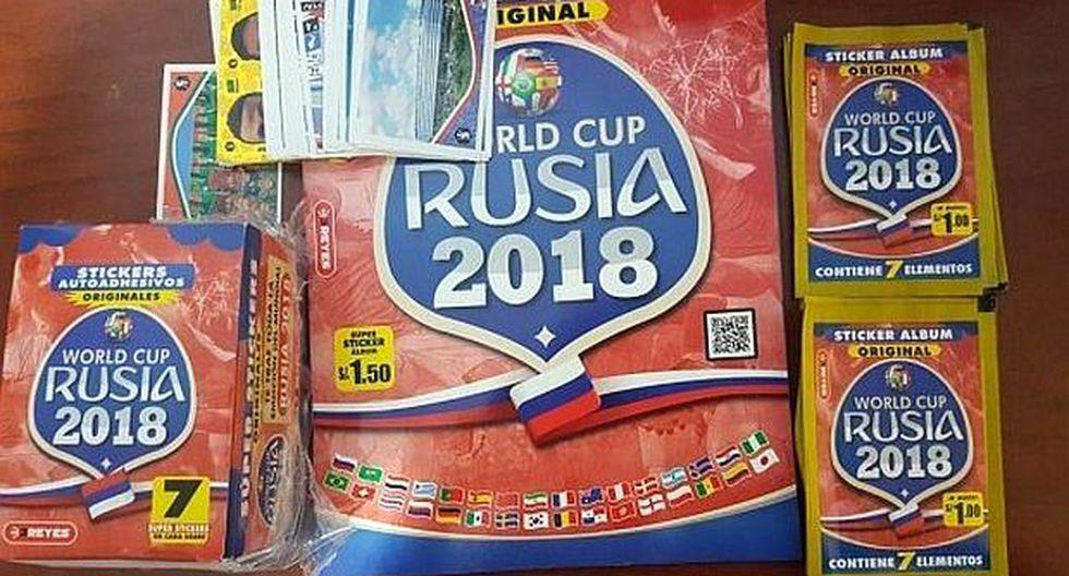 Capri Internacional S.A. no demostró al Indecopi que contaba con los derechos de la FIFA para vender un álbum durante el Mundial de Rusia 2018. (Foto: USI)