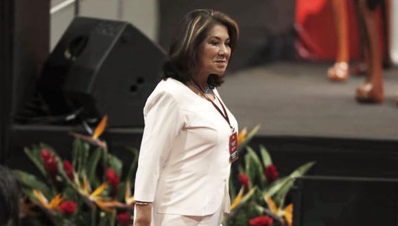 """La congresista Martha Chávez señaló que Vicente Zeballos """"quizá debió ir a Bolivia, como moqueguano y como persona de rasgos andinos"""" sobre su designación ante la OEA. (Foto: GEC)"""