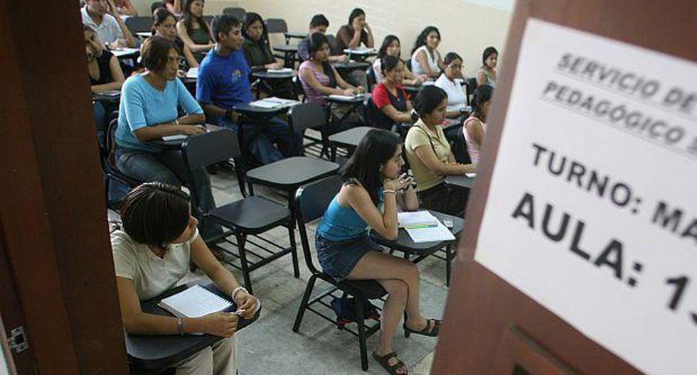 Minedu busca que todas las universidades públicas cumplan condiciones básicas de calidad.