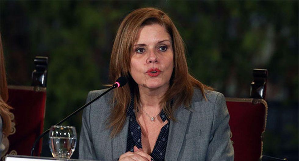 Mercedes Aráoz, congresista de Peruanos por el Kambio, afirmó que no hay garantías en este proceso porque no se ha respetado su derecho de defensa. (Foto: Agencia Andina)