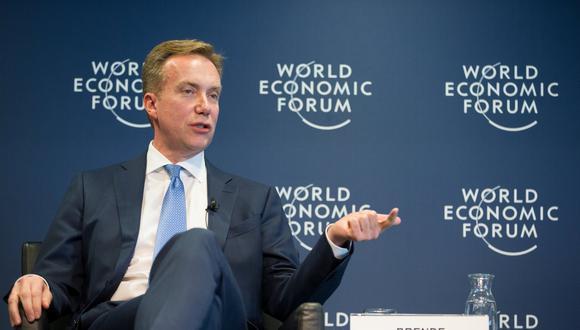 Presidente de la organización, Borge Brende. (Foto: Reuters)