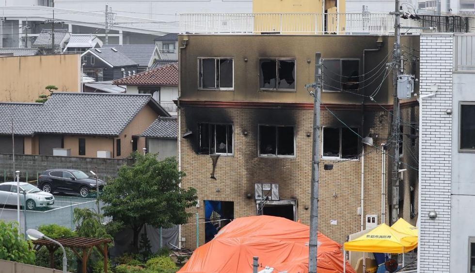 Las preguntas claves del incendio en un estudio de animación de Japón. (Foto: AFP)