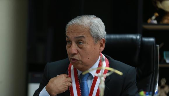 El fiscal de la Nación solicitó el estado actual de las investigaciones que lleva José Domingo Pérez. (Foto: GEC)