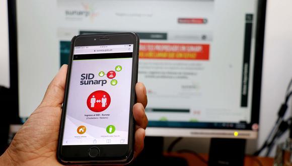 El SID-Sunarp permite realizar el procedimiento registral electrónicamente, sin acudir a una oficina. (Foto: Difusión)