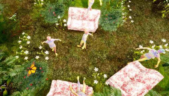 Gucci y Roblox se unen en un jardín virtual del videojuego.